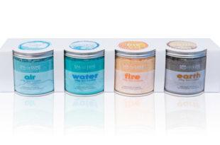 AquaFinesse Spa de Luxe Crystals 4er Set